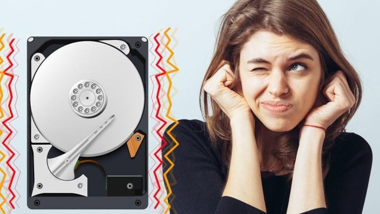 Sabit diskinizden garip sesler mi geliyor?