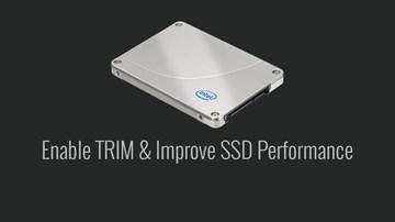 Bir SSD'nin Performansını En Yüksek Düzeyde Tutmak İçin TRIM'in Etkinleştirildiğinden Emin Olun!