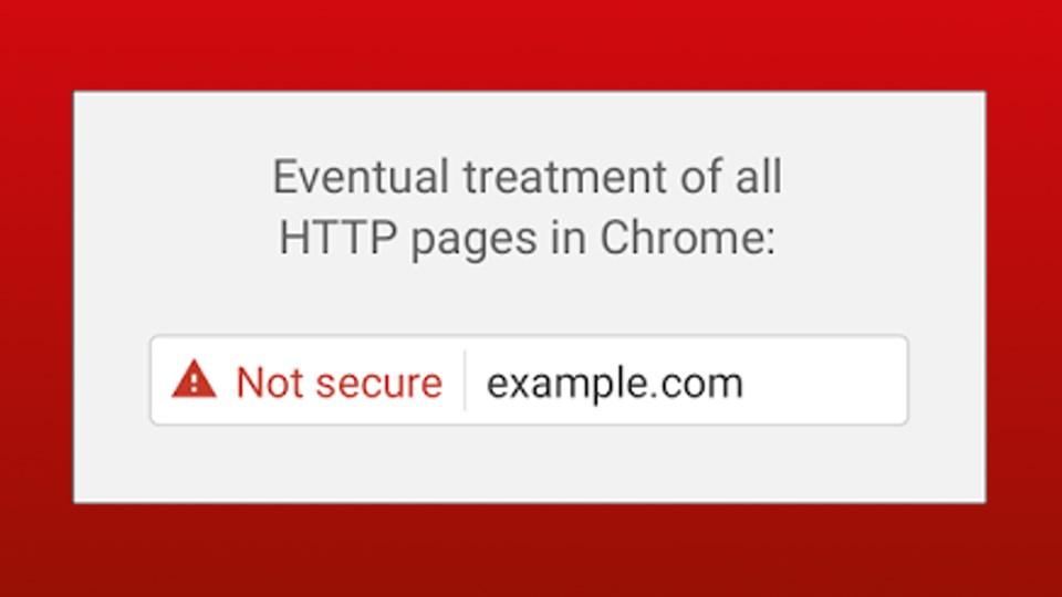 """Google Chrome HTTP'ye """"Güvensiz"""" İşareti Koyacak"""